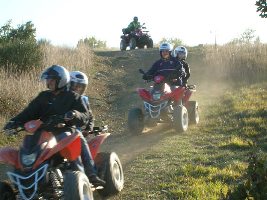 Escursione guidata Umbria in Quad